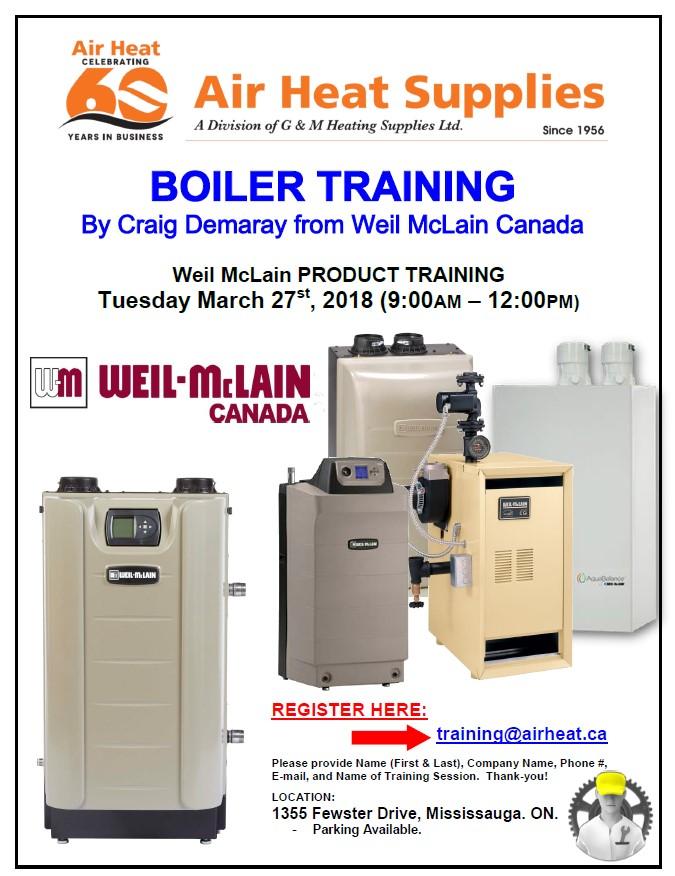 WEIL-McLAIN BOILERS | Air Heat